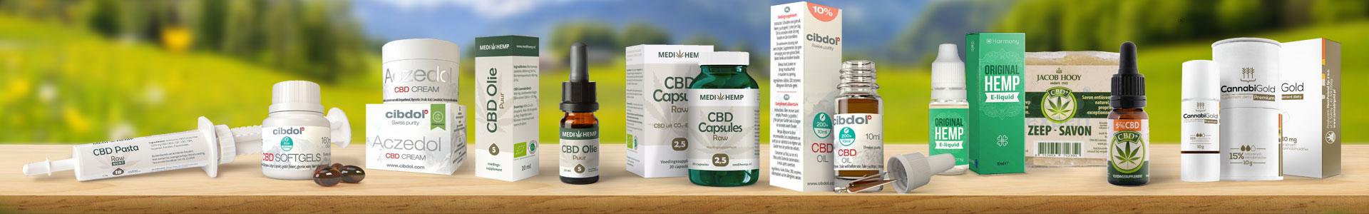 Het grootste aanbod CBD Producten van Nederland voor de scherpste prijs.
