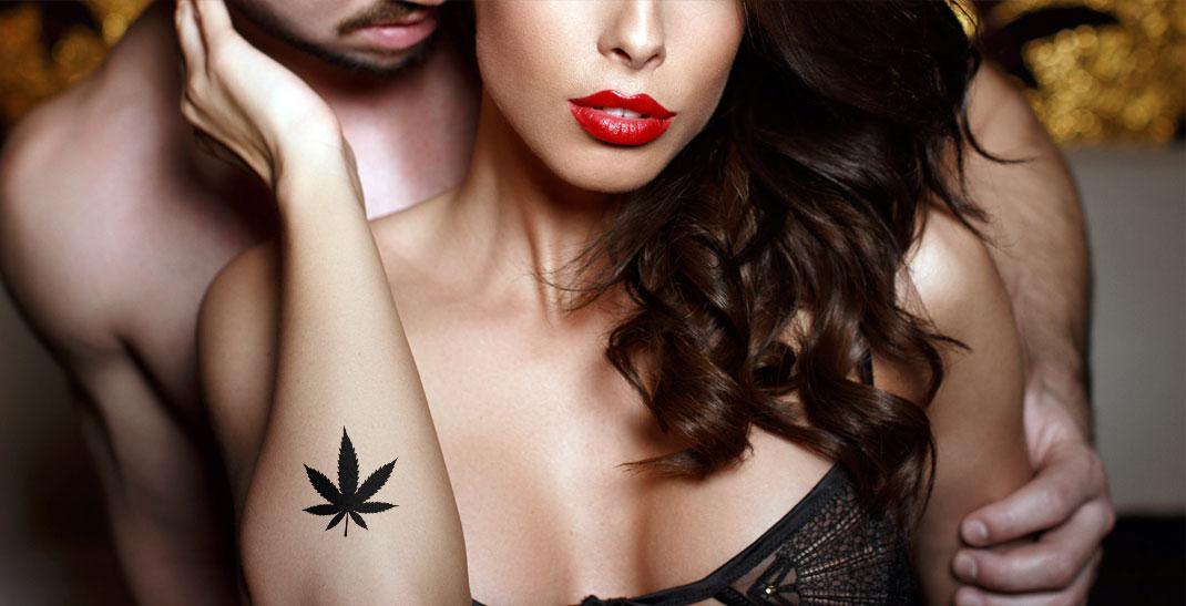 Een beter sexleven door cannabis