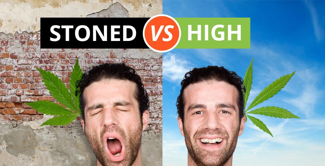 Stoned VS High