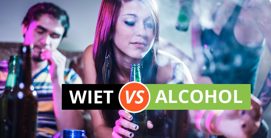 Wiet VS Alcohol - Ontdek de verschillen