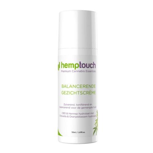 Hemptouch balancerende gezichtscrème met 100 mg CBD