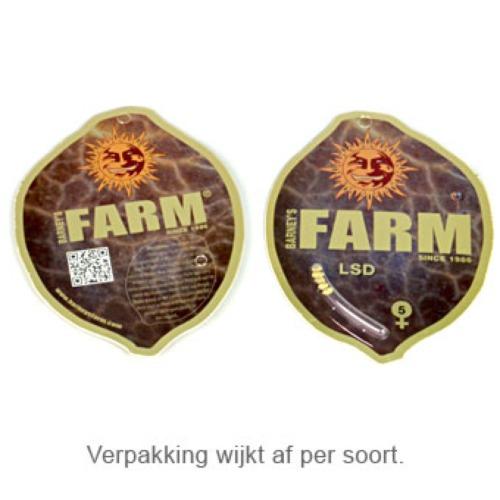 Critical Kush autoflower - Barney's Farm verpakking