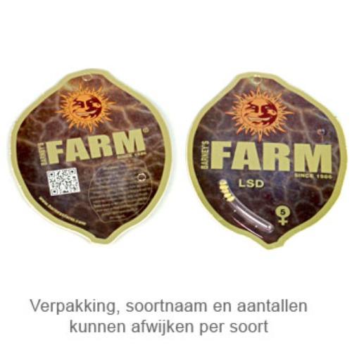 Liberty Haze - Barney's Farm verpakking