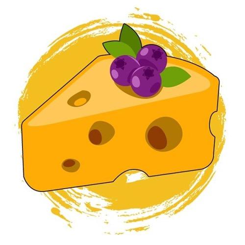 Berries & Cheese - Sumo Seeds Icoon