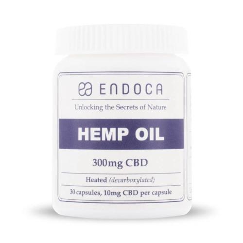 Endoca CBD Capsules 3% 300mg CBD