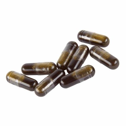 CBD capsules met per capsule 12,5 mg biologische Raw CBD + CBDA.