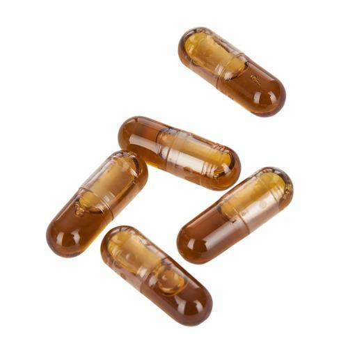 CBD capsules met per capsule 25 mg biologische Raw CBD + CBDA.