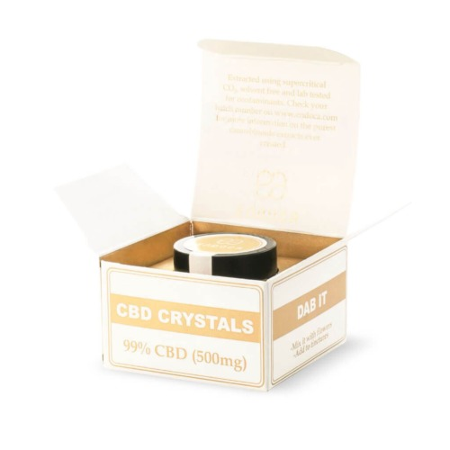 CBD-kristallen van endoca zij ook zeer geschikt voor gebruik in de de vaporizer