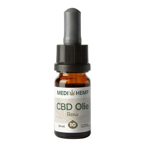 CBD olie Raw 10% (MediHemp) 10 ml