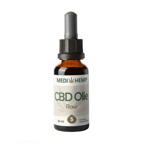 Het 30 ml flesje met CBDF olie van 10 procent