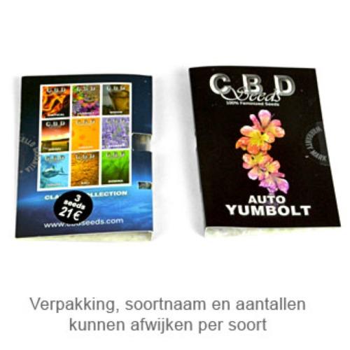 Yumbolt - CBD Seeds package