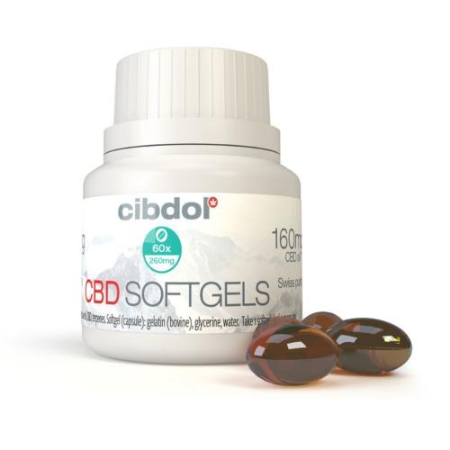 De CBD Softgel Capsules 10% zijn eenvoudig in te nemen.