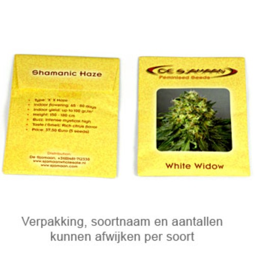 Widow Ryder autoflower - De Sjamaan package