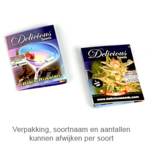La Bella Afrodita autoflower - Delicious Seeds packaging