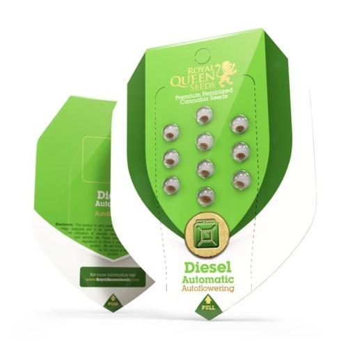 Diesel Automatic verpakking - Royal Queen Seeds