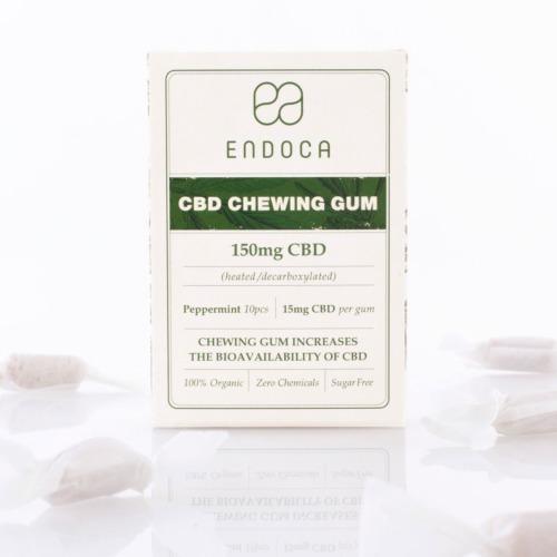 Endoca CBD-kauwgom 150mg CBD 10 stuks