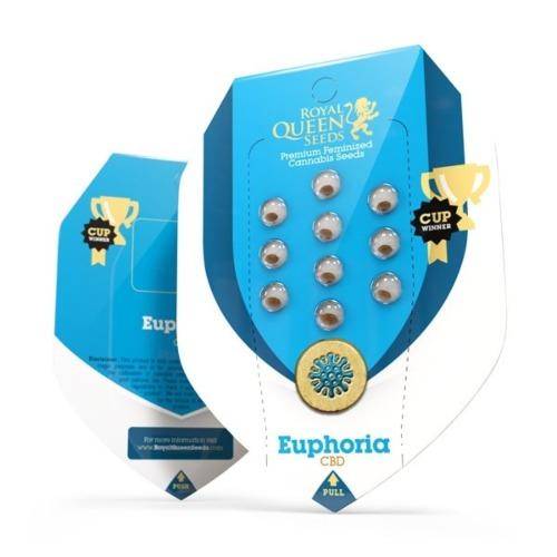 Euphoria - Royal Queen Seeds verpakking