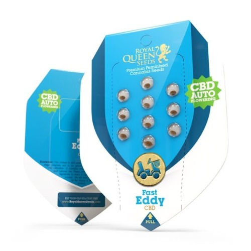 Fast Eddy - Royal Queen Seeds verpakking