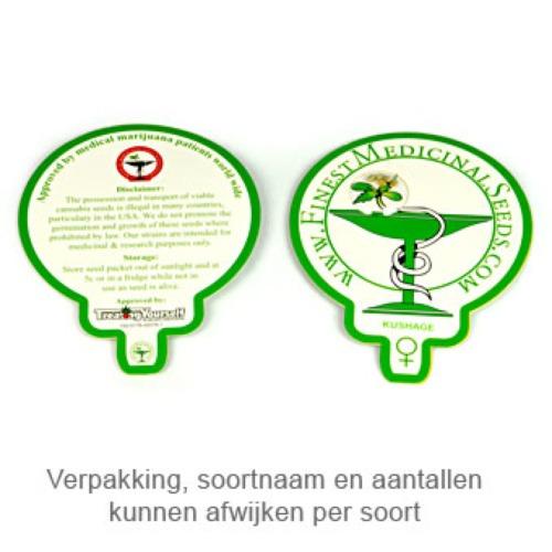 Amnesia Haze - Finest Medicinal Seeds verpakking