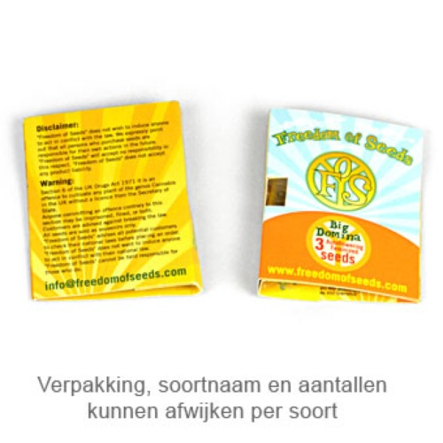 Godberry - Freedom of Seeds verpakking