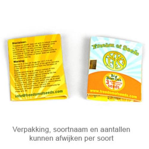 Hash Lover - Freedom of Seeds verpakking