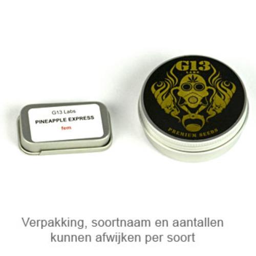 Royal Kush - G13 Labs verpakking