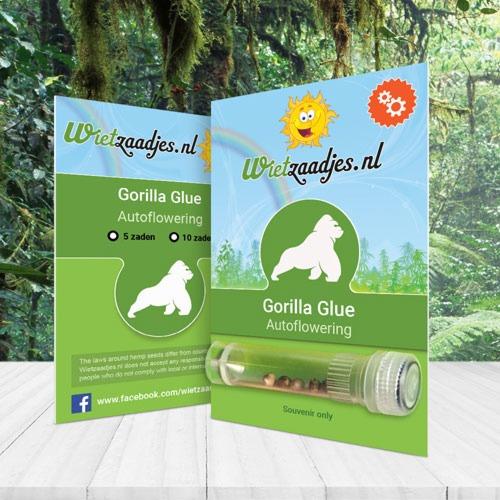 Gorilla Glue Autoflower Huismerk verpakking