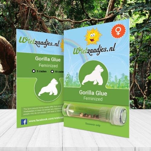 Gorilla Glue Feminized Huismerk verpakking