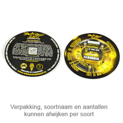 Super Lemon Haze Autoflowering CBD - Green House Seeds verpakking