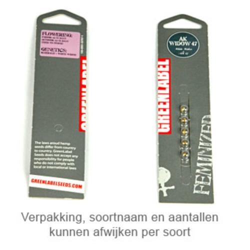 Auto Silver Haze - Greenlabel verpakking