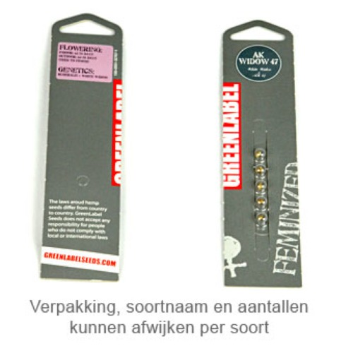 Killer White - Greenlabel verpakking