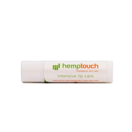 Liggende hemptouch lipverzorging lippenbalsem met hennep