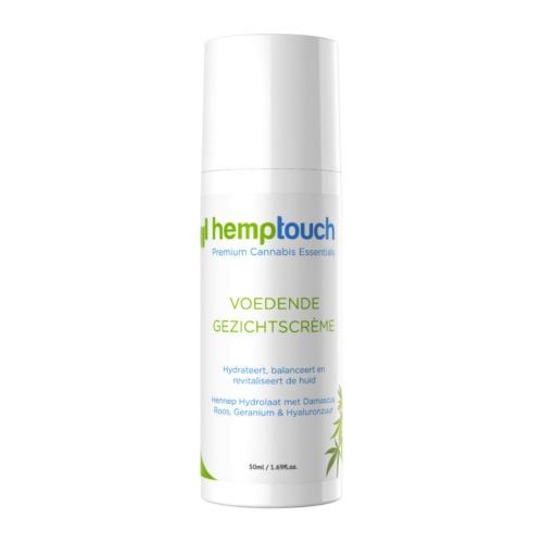 Hemptouch voedende gezichtscrème met 50 mg CBD