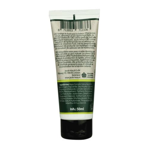 CBD-crème brengt de huid weer in balans.
