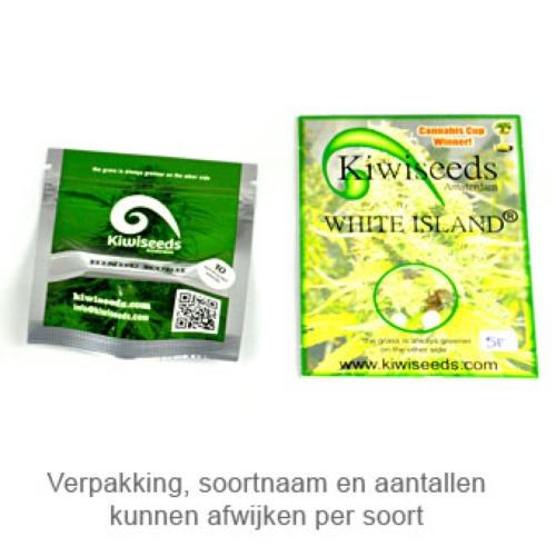 Kiwiskunk - Kiwi Seeds verpakking