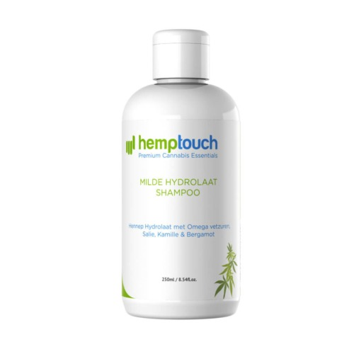Hemptouch milde hydrolaat shampoo  met hennepzaadolie.