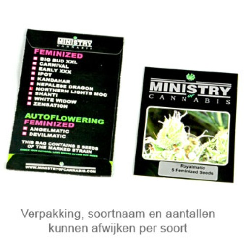 Cristal Cloud - Ministry of Cannabis verpakking