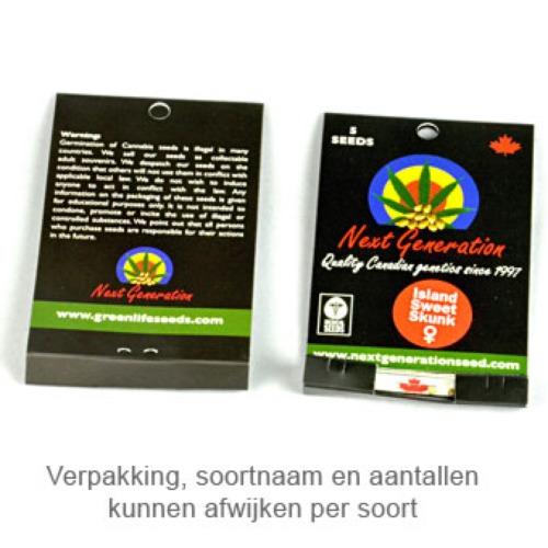 BC Golden Skunk - Next Generation verpakking