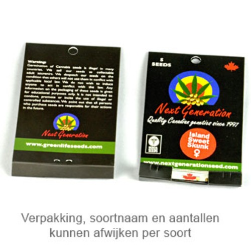 Island Sweet Skunk - Next Generation verpakking