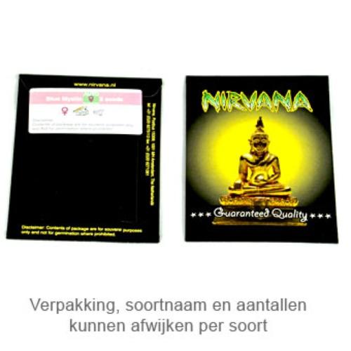 Blue Mystic - Nirvana verpakking