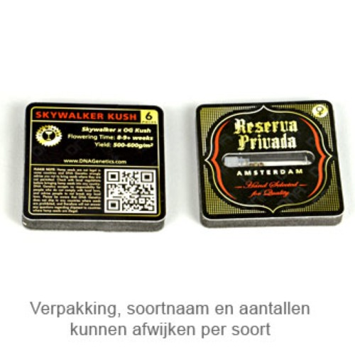 Silver Kush - Reserva Privada verpakking