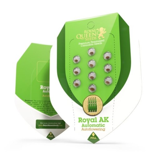 Royal AK Automatic - Royal Queen Seeds verpakking