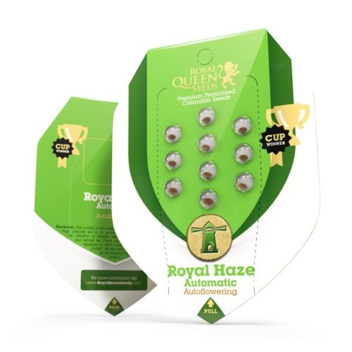 Royal Haze Auto - Royal Queen Seeds verpakking