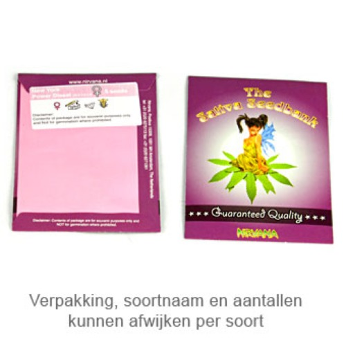 Urban Poison - Sativa Seedbank verpakking