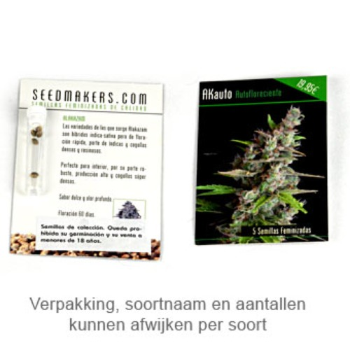 Low Dwarf - Seedmakers Seeds verpakking