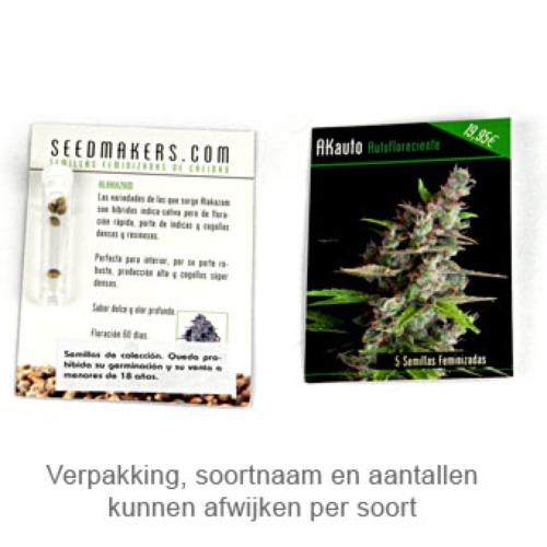Wonder Skunk - Seedmakers Seeds verpakking