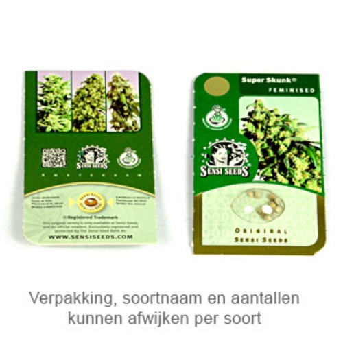 Silver Haze - Sensi Seeds verpakking
