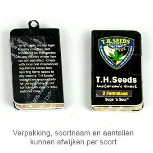 Burmese Kush - THSeeds verpakking