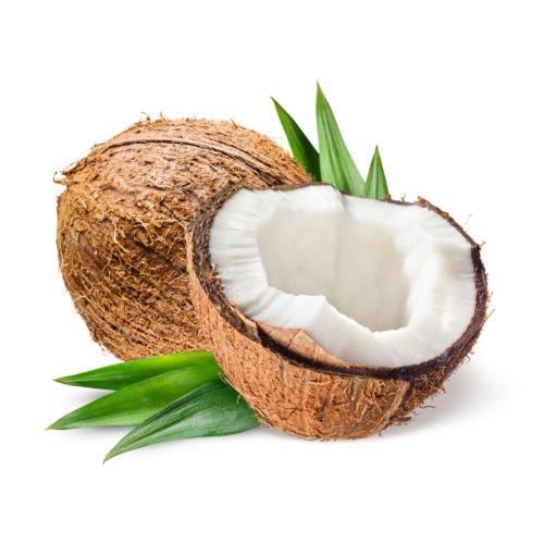 Tropische kokosnoot met heerlijke kokossmaak