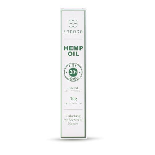 CBD Olie Pasta (Endoca) 10 gr 20% CBD 2000 mg
